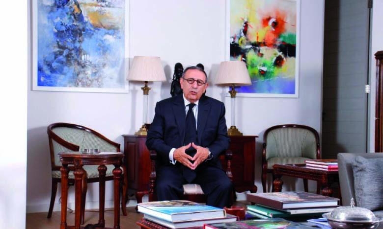 Youssef Amrani, ambassadeur du Maroc  en Afrique du Sud.