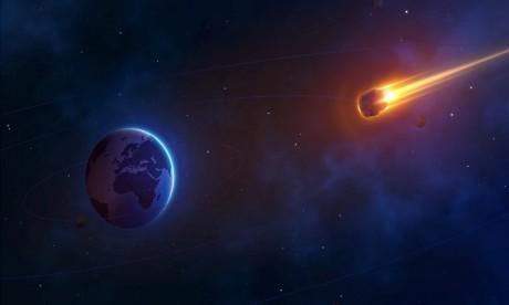 L'astéroïde «2001 FO32» avait été observé pour la première fois en 2001 et fait l'objet depuis d'une surveillance rapprochée. Ph :  AFP