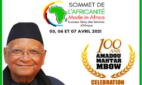 Second Sommet de l'africanité : Le Maroc rend hommage au professeur Amadou Mahtar Mbow