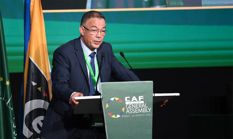 Fouzi Lekjaâ a barré la route au candidat algérien Khaireddine Zetchi.