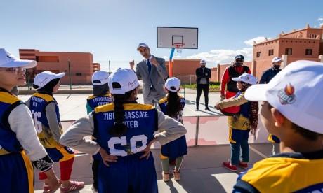 Programme d'Education par le Sport : TIBU Maroc et ACWA Power Maroc posent pied à Ghassate