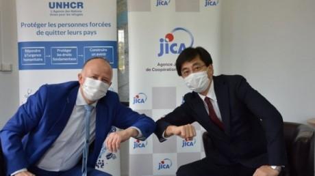 Réfugiés résidant au Maroc : La JICA soutient le programme de réponse du HCR à la crise du Covid-19