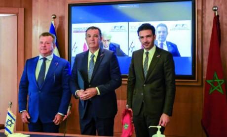 Accord de partenariat stratégique entre la CGEM  et The Israeli Employers and Business Organizations