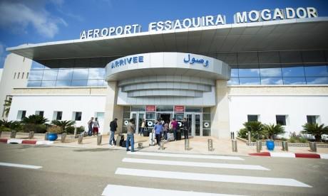 Aéroport Essaouira-Mogador: Chute de près de 92% du trafic aérien à fin février