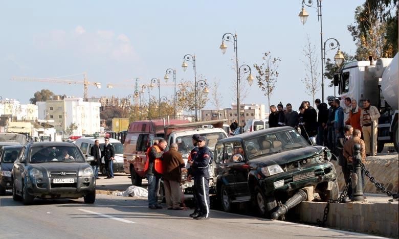 Les accidents de circulation font 19 morts et 1.925 blessés en une semaine