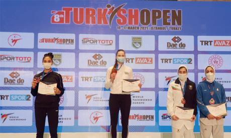 Safia Saleh première Marocaine à monter sur le podium en Turquie