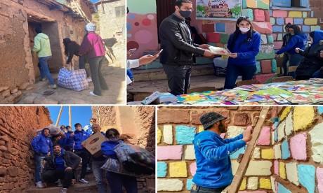Les étudiants de l'ENCG Marrakech solidaires avec les populations vulnérables de la région