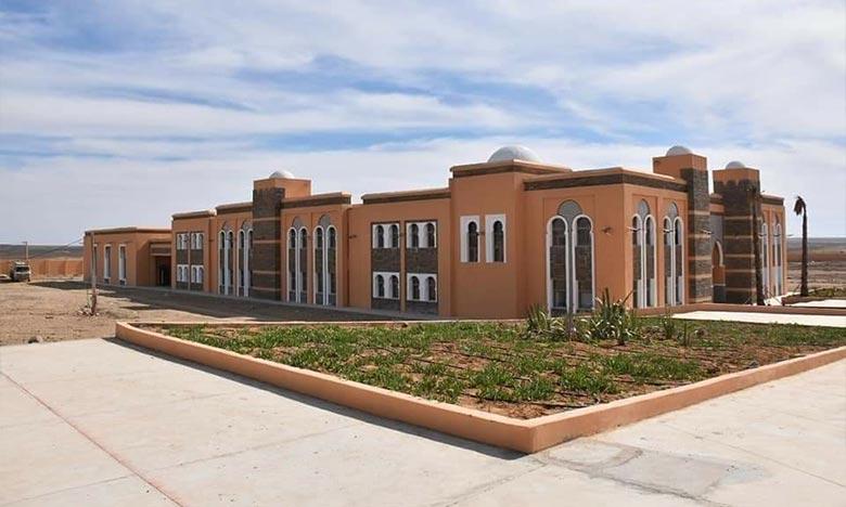 La Faculté, bâtie sur une superficie de 69.500 m2, offre des formations dans les domaines des sciences de la chariâa, des langues et de l'informatique. Ph : DR