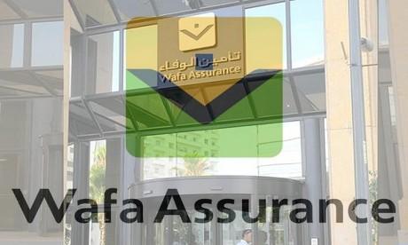 Le CA annuel de Wafa Assurance en baisse de 5,4%, sous les effets de la crise
