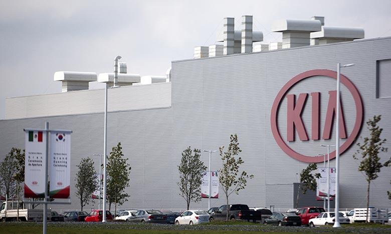 Le constructeur automobile coréen Kia annonce le rappel de 380.000 véhicules aux Etats-Unis en raison de risques d'embrasement du compartiment moteur durant la conduite.  Ph : AFP