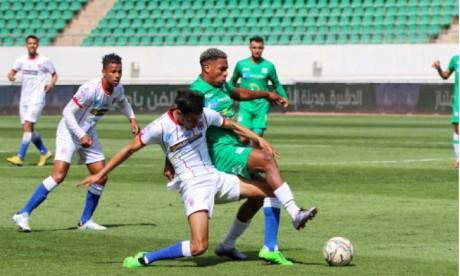 Mission accomplie pour l'Olympique Dcheira  et le Stade marocain : le mano a mano continue