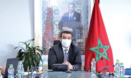 Huitième réunion à Rabat  de la commission tripartite de suivi