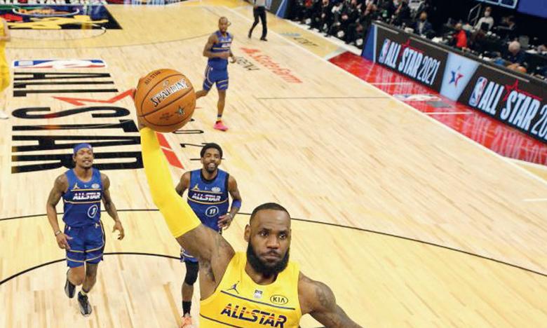 Team LeBron remporte l'édition 2021, Giannis et Curry brillent