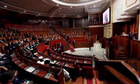 Ouverture de la session extraordinaire de la Chambre des représentants