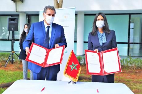 Signature à Rabat de conventions relatives au Programme national de constitution de coopératives agricoles