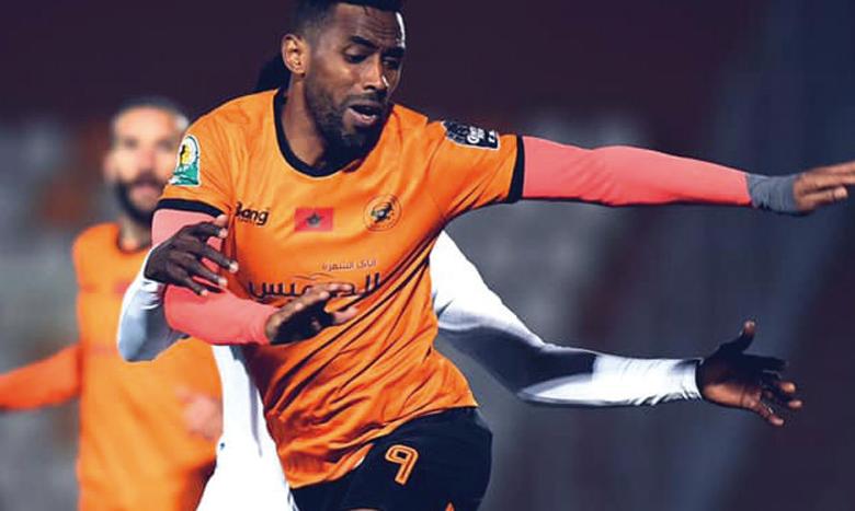 Mouhssine Yajour s'est blessé, lundi, lors d'une séance d'entraînement de l'équipe.
