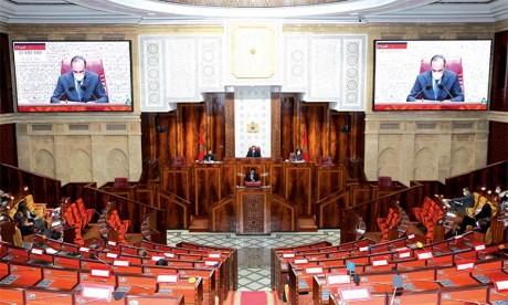 Ouverture aujourd'hui d'une session extraordinaire  de la Chambre des représentants