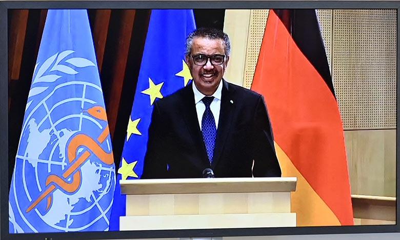 «Les flexibilités de l'Accord sur les ADPIC sont là pour être utilisées dans les situations d'urgence», a déclaré le directeur général de l'OMS, Tedros Adhanom Ghebreyesus. Ph :  AFP