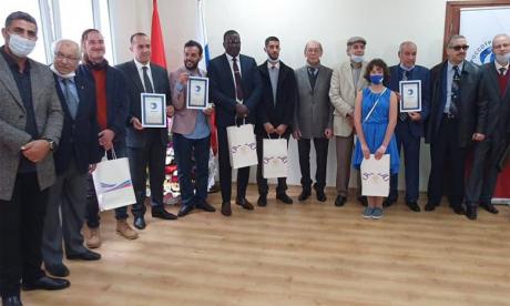 Cérémonie de remises de Prix aux lauréats  de différentes activités artistiques et culturelles