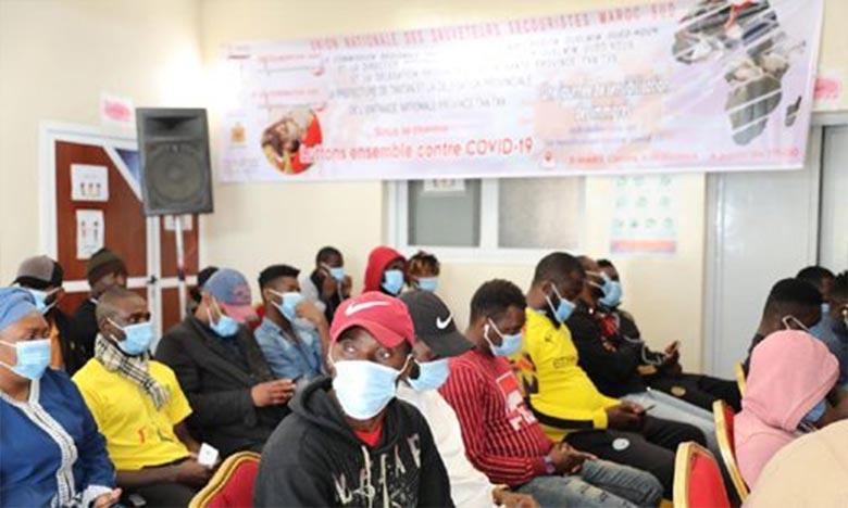 Cette journée vise à sensibiliser aux dangers de la pandémie du coronavirus, aux moyens de prévention contre ce virus et à l'importance de la vaccination. Ph : MAP