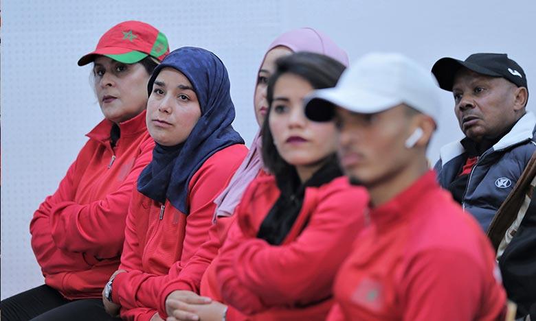 La sélection nationale handisports a totalisé neuf médailles, dont trois en or et autant en argent, au terme de la première journée des épreuves du Grand prix de Tunis 2021 de para-athlétisme.Ph : MAP