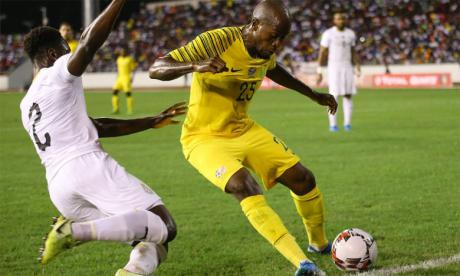 Le Soccer City Stadium abrite ce jeudi la rencontre entre l'Afrique du Sud et le Ghana.