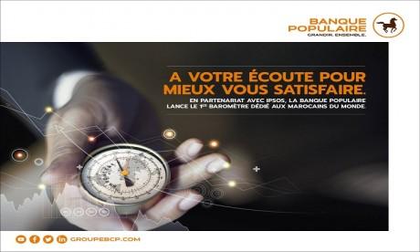 La Banque Populaire lance le 1er baromètre dédié aux Marocains du monde
