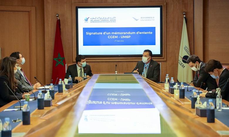 La CGEM et l'UM6P signent un MoU pour promouvoir la R&D, l'entrepreneuriat et la formation