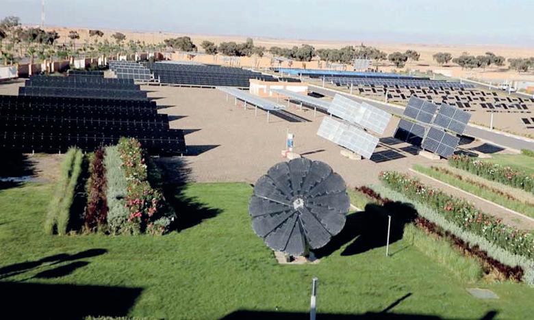 Les réalisations scientifiques de l'Iresen sont illustrées par le Green Energy Park dédié à l'énergie solaire, le Green and Smart Building Park pour la construction durable et le Green Energy Park Maroc-Côte d'Ivoire. Ph. DR