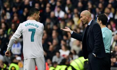 Zidane n'écarte pas un retour de Cristiano Ronaldo au Real Madrid