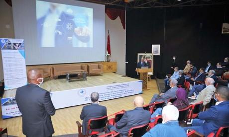 Cérémonie de lancement du Centre des études doctorales (CEDOC) de l'Ecole nationale supérieure des mines de Rabat (ENSMR). Ph : MAP