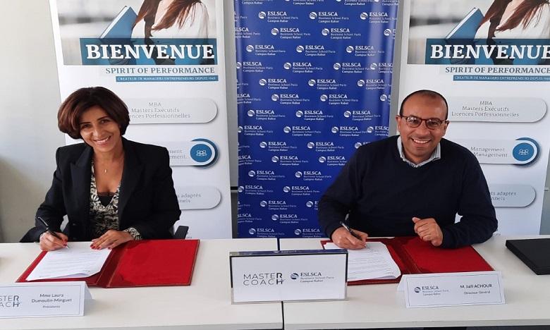 ESLSCA Rabat lance un Master exécutif en management RH, en partenariat avec Master Coach HR