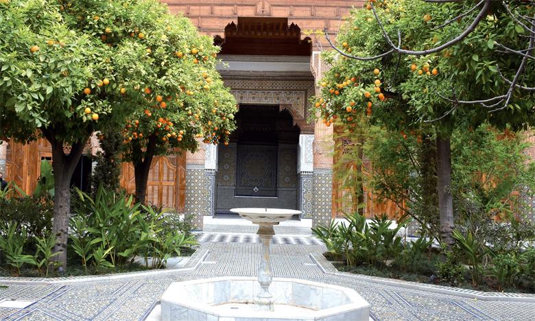 Une exposition d'envergure  dans un joyau architectural de la ville ocre
