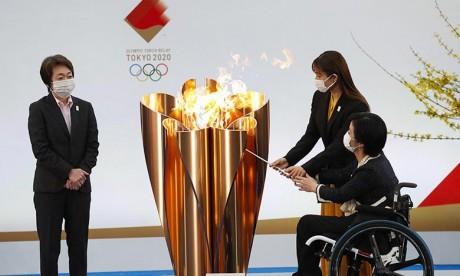 JO de Tokyo: Le relais de la flamme olympique lancé à Fukushima, sans spectateurs