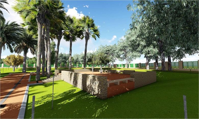 Lancement des travaux de réaménagement du Jardin Ibn Zaydoun