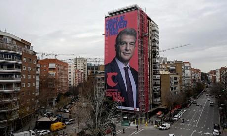 Joan Laporta, nouveau président du FC Barcelone