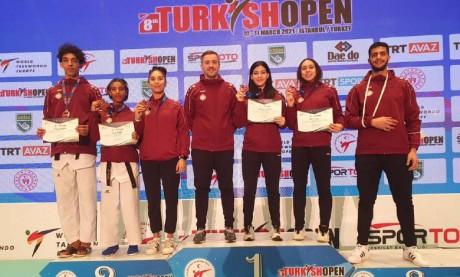 L'équipe nationale décroche cinq médailles en Turquie