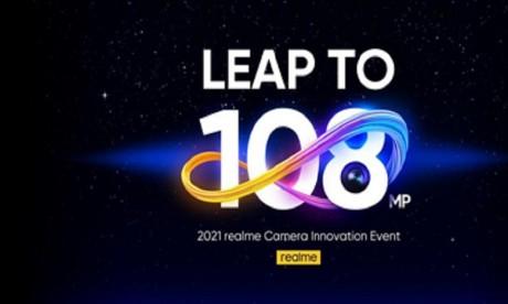 realme lance son premier appareil photo 108MP