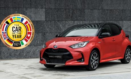 La Toyota Yaris élue «Voiture de l'Année 2021»