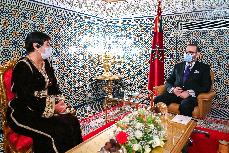 S.M. le Roi nomme Zineb El Adaoui au poste de Premier Président de la Cour des compte