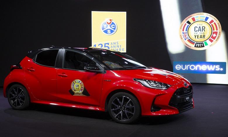 La Toyota Yaris élue voiture européenne de l'année