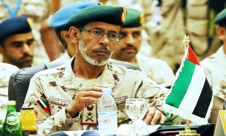 Visite au Maroc d'une délégation militaire des Emirats Arabes Unis