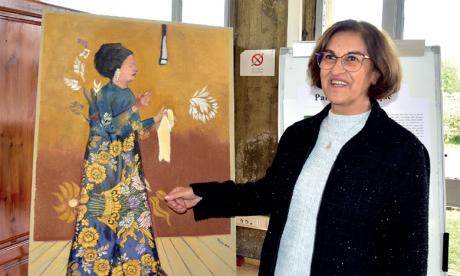 L'ISIC célèbre cette fête à travers l'exposition de la professeure Khadija Zizi