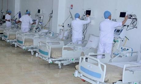 La nouvelle structure vise notamment à répondre aux besoins de la région en termes de cadres infirmiers et de main d'œuvre qualifiée. Ph : MAP
