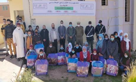 L'opération a été organisée en coordination avec les autorités locales relevant de la commune de Krouchen et l'Association Aït Othman pour le développement rural. Ph : DR