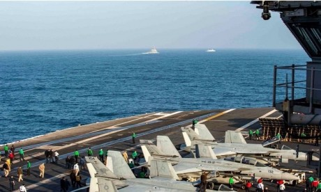 Exercice militaire maroco-américain au large des côtes sud du Royaume