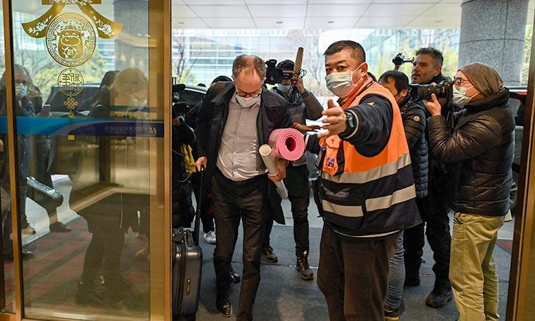 L'équipe d'experts de l'OMS dépêchée en janvier à Wuhan en Chine, pour enquêter sur les origines de la pandémie de Covid-19. Ph :  AFP