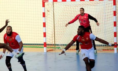 Wydad Smara de handball avait également remporté le championnat national pour la précédente saison en battant l'AS FAR avec un score de 22 à 19. Ph : MAP-Archives