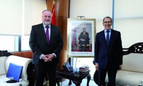 Le président du Conseil mondial de l'eau se félicite des réalisations accomplies par le Maroc