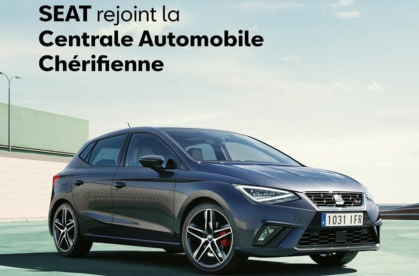 La Centrale Automobile Chérifienne ajoute la marque Seat à son catalogue